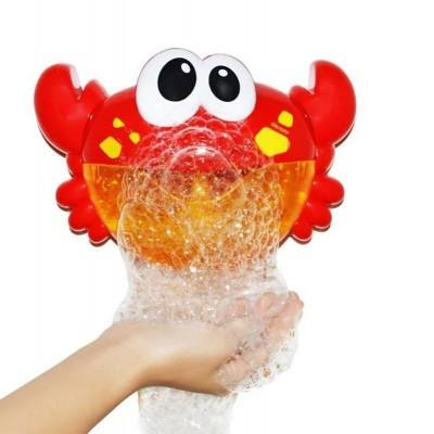 """Игрушка для купания """"Краб"""" L596 с мыльными пузырями"""