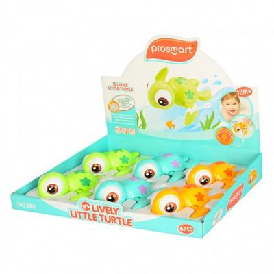 Іграшка для ванної Черепашка 588V водоплавна