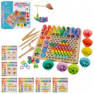 Дерев'яна іграшка Мозаїка для дітей MD 2514
