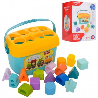 Детский развивающий сортер HE0218 в чемодане